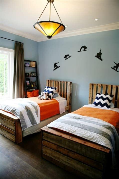 chambre deux lits chambre 224 coucher chambre gar 231 on d 233 coration tendances