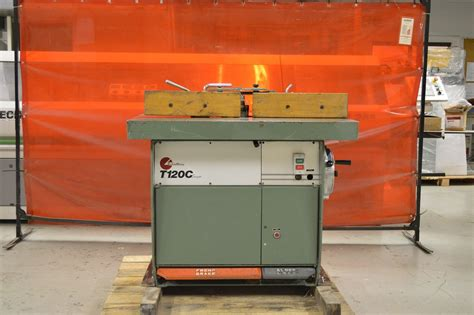 pre owned woodworking machinery used shaper scm model t120