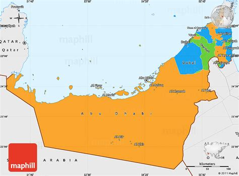 uae political map uae political map pictures to pin on pinsdaddy