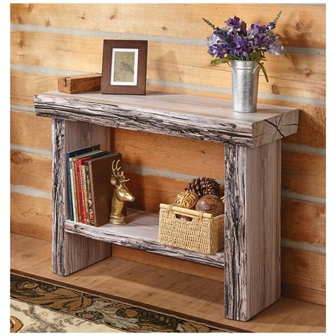 tree trunk console table castlecreek tree trunk console table 664331 living room
