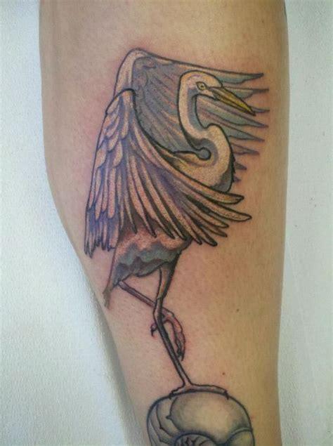 zeplace tattoo quebec cattle egret by resonanteye on deviantart