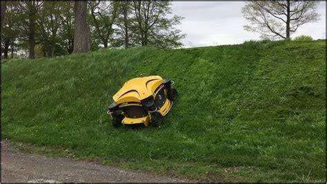 riding lawn mower  steep hills home improvement