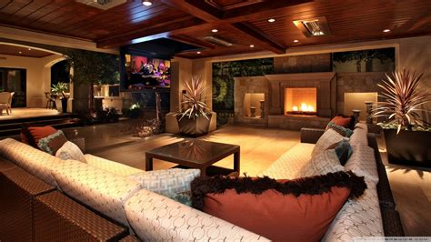 pics photos download luxury wooden house interior picture