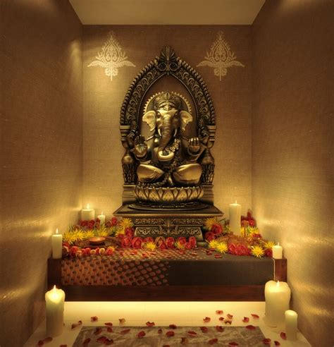 home temple decoration ideas 146 best images about dream home pooja room on pinterest