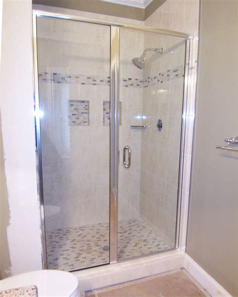 Shower Door And Panel Semi Frameless Shower Doors Roselawnlutheran