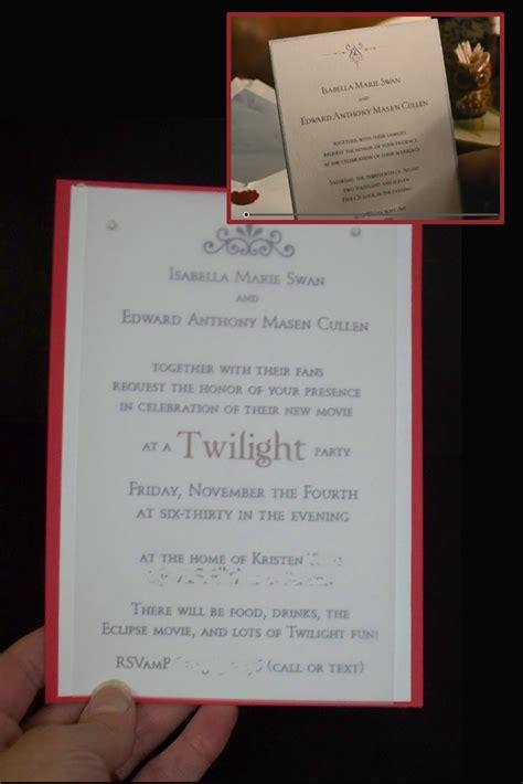 twilight saga wedding invitation 151 best twilight images on twilight wedding twilight saga and wedding stuff
