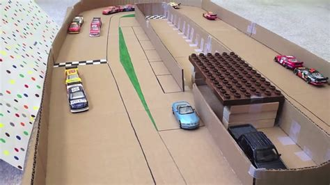 How To Make A Race Car Out Of Paper - how i make a stop motion a stop motion race track