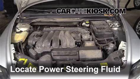 check power steering level volvo     volvo     cyl