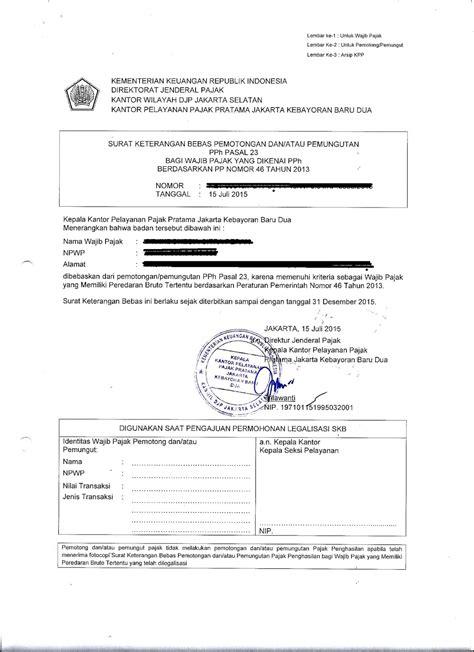 format surat kuasa penandatangan spt masa konsultan pajak berpengalaman i lapor spt tahunan i spt