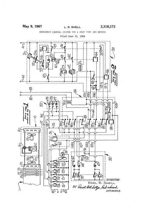 patent us3318372 emergency system for a heat