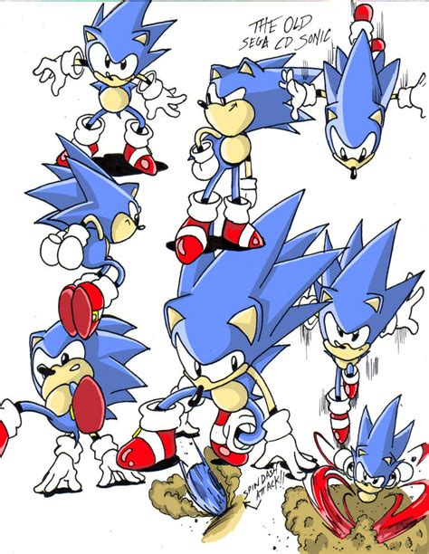 sonic painting free sonic cd color by andoryu san on deviantart
