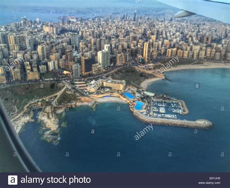 My Last In Beirut Free Beirut Lebanon From Sky Stock Photo Royalty Free Image 310393921 Alamy