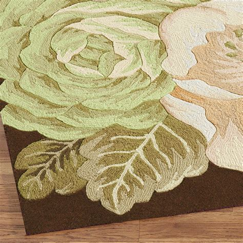 magnolia rug magnolia rug runner brown 2 3 quot x 8 touch of class