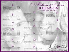 seating chart for wedding template wedding reception seating chart template free