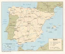 Spain Map With Cities by Map Of Spain Cities Maps Of Spain