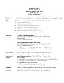 professional legal secretary resume template