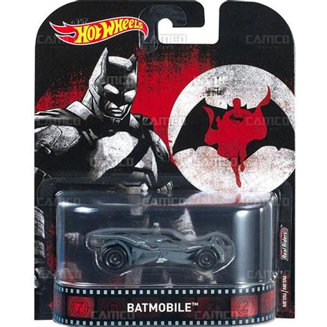 Hotwheels Bvs batmobile bvs 2017 wheels retro entertainment camco toys