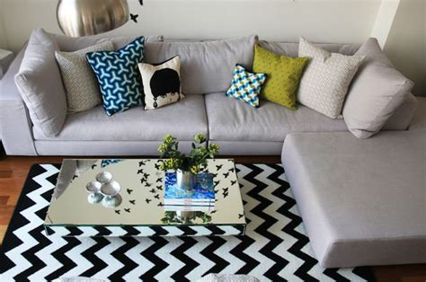 how to place a rug under a sectional sofa 1000 images about rug placement on pinterest pictures