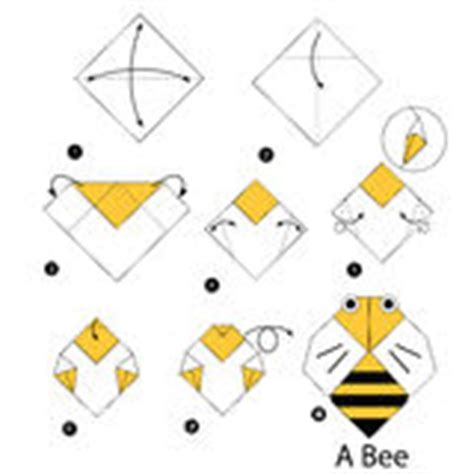 How To Make A Paper Bee - vector origami paper bee stock illustration image 50754357