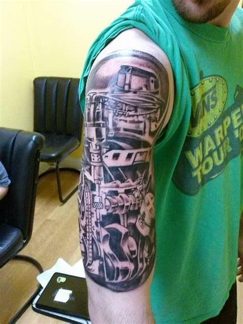 turbo and piston tattoo 23 best tattoos images on pinterest car tattoos rod