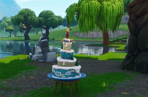 fortnite birthday challenges sees game celebrate