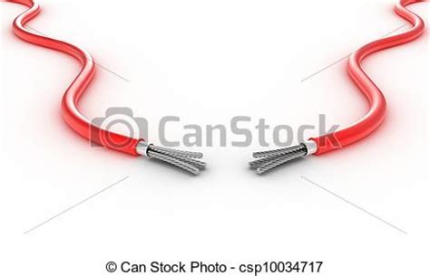two wires royalty free stock illustration csp10034717