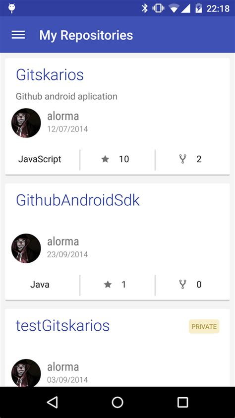 android github github browser gitskarios 187 apk thing android apps free