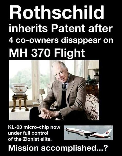 Zionist Conspiracy flight mh 370 disappearance leak zionist rothschild kills 4 co owners of next big thing micro