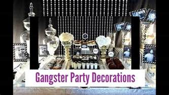 gangster themed decorations gangster decorations