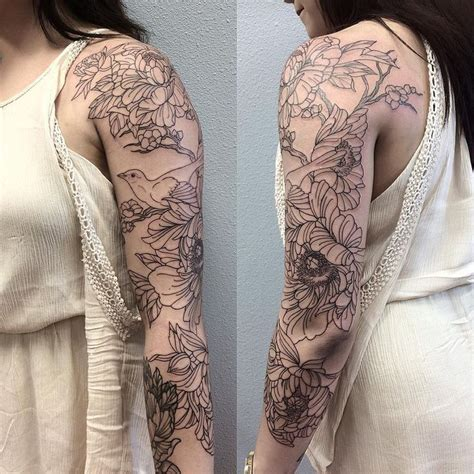 3 4 tattoo sleeve best 25 bird sleeves ideas on colorful