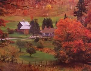 Landscape Jigsaw Puzzles Jigsaw Puzzle Landscape Autumn Farm Vermont 1000 Nib