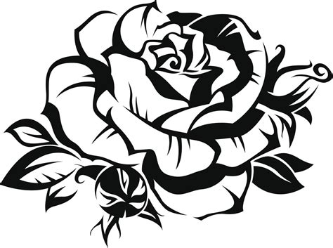 tribales tattoos im 225 genes de rosas tribales clipart best