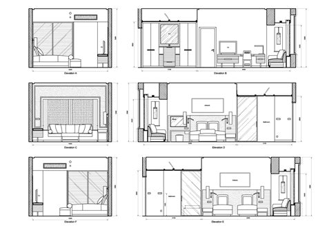 interior design section drawings elevation drawing peta louise krog