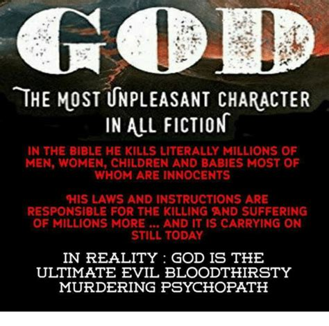 leer god the most unpleasant character in all fiction en linea gratis the most unpleasant character in all fiction in the bible he kills literally millions of men