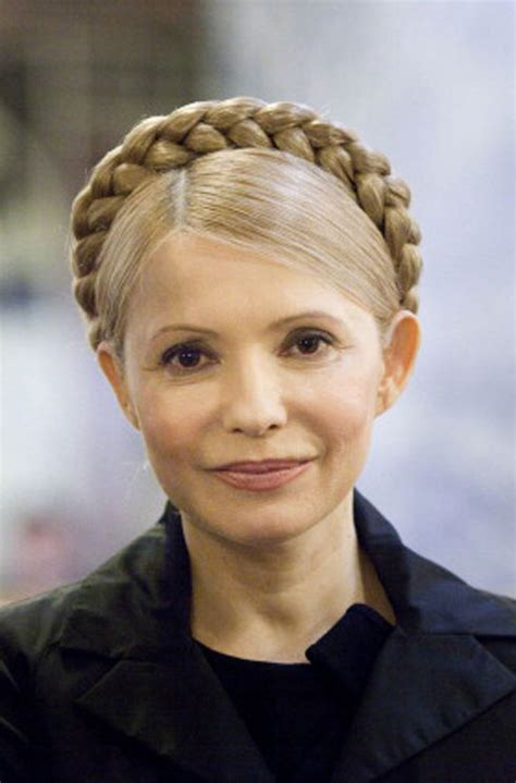 yulia tymoshenko hairstyle how to dress for political success harper s bazaar