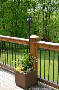 Railing Planter Box How To Make Planter Boxes For Deck Railing Woodworking