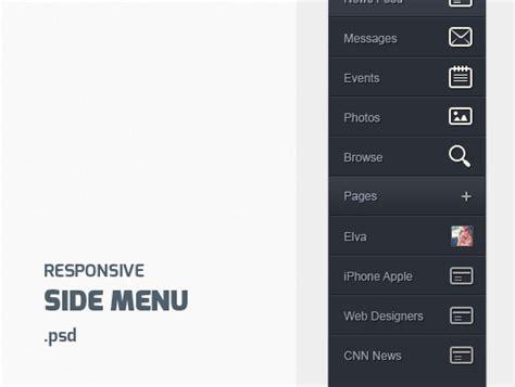responsive design vertical menu menu archives blugraphic