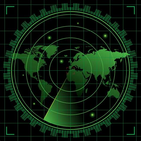 Futuristic Clock by Radar Vectors Photos And Psd Files Free Download