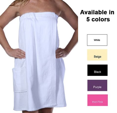 S Shower Wrap by Cottonage S Shower Wraps Are Great After Shower Cover Up Adjustable Velcro Closure Elasticized