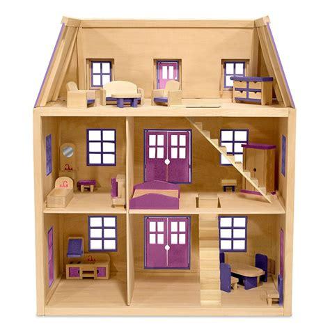 Mini 2 Dan 3 maison de poup 233 e 3 233 tages en bois princesse r 234 ve fille jouet fillette maison poup 233 e