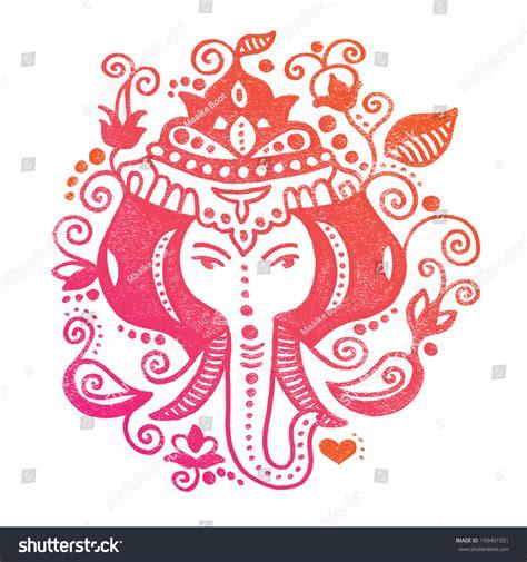 doodle god india lord ganesh indian god colorful doodle