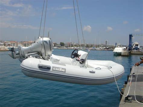 caribe boats caribe c10x in marina port premi 224 inflatable boats used