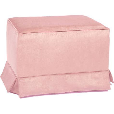 pink ottoman enchanted gliding ottoman pink walmart