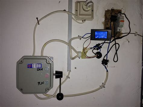 Saklar Genset Pln aespe s words monitor wattmeter dengan trafo arus ct current transformer