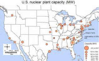nuclear power plants map nuclear power plants in map