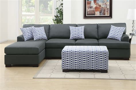 gray sectional with chaise using gray leather sectional sofas in your homes elites