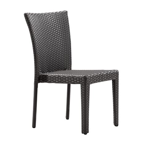 zuo arica dining chair in espresso boost home