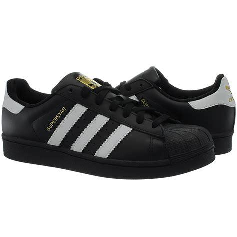 Weiße Sneakers Herren 2281 by Adidas Superstar Schwarz Wei 223 Herren Leder Kult Sneaker