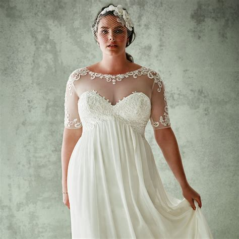 david s bridal plus size wedding dresses popsugar fashion