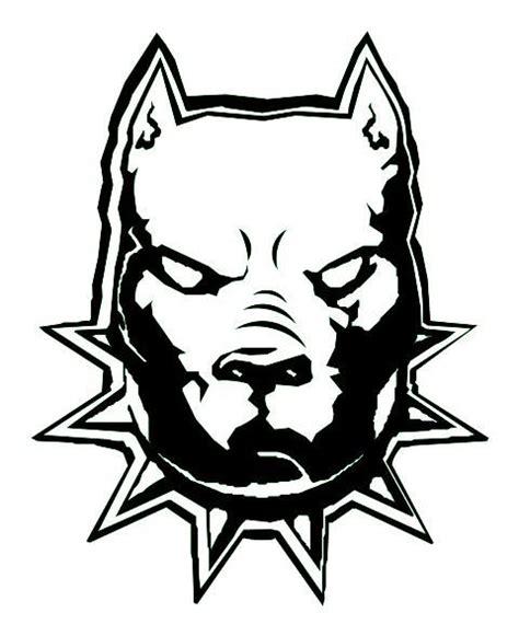pitbull tattoo design 32 best pitbull stencils images on pit